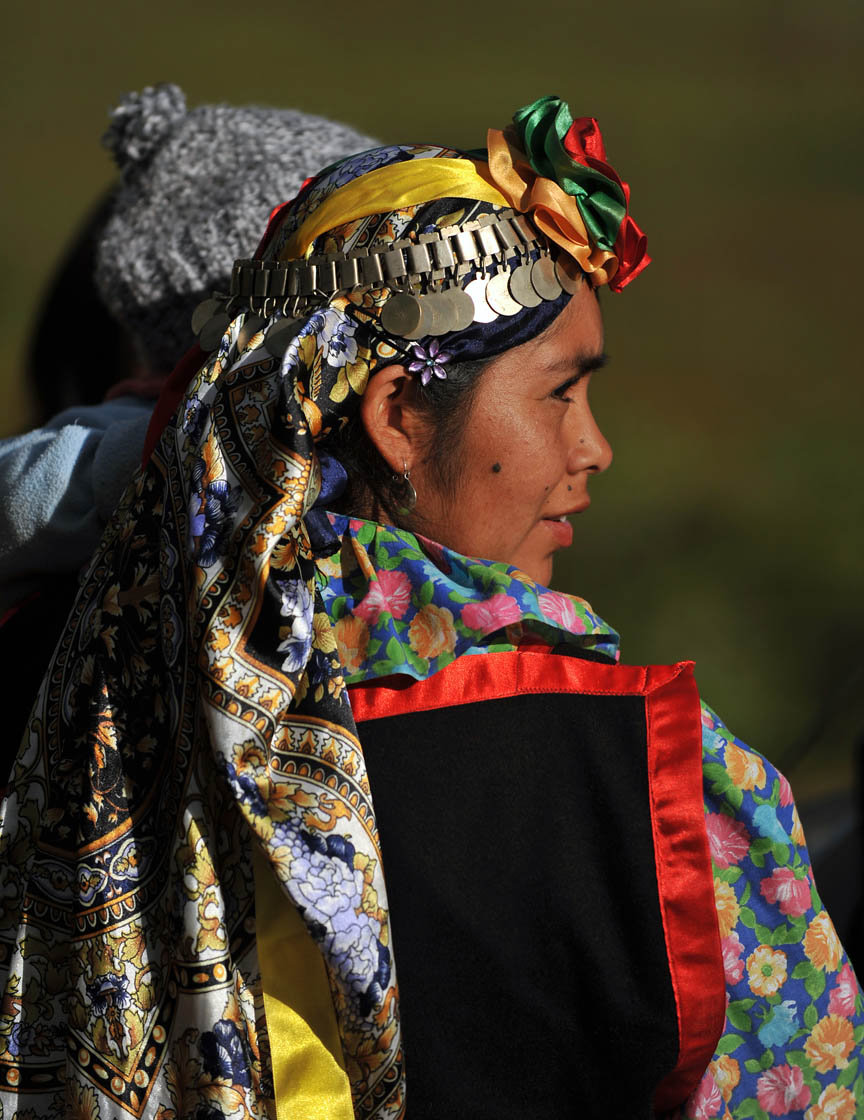 Mapuche indigenous woman | Photo © Martin Bernetti