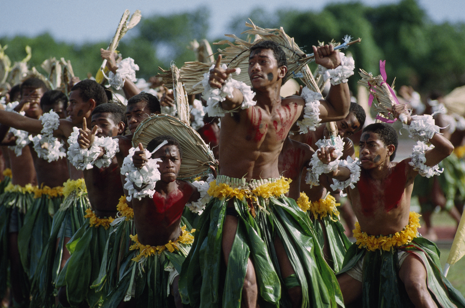 Photo © James L. Stanfield, National Geographic | Fijian Dancers