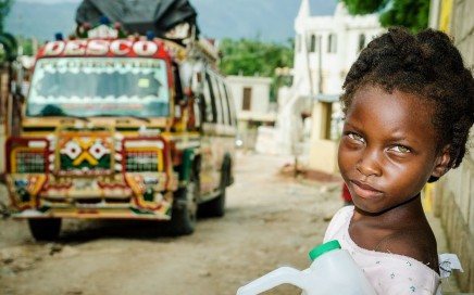 Cover Photography © Stefano Giovannini | Child in Jacmel, Haiti