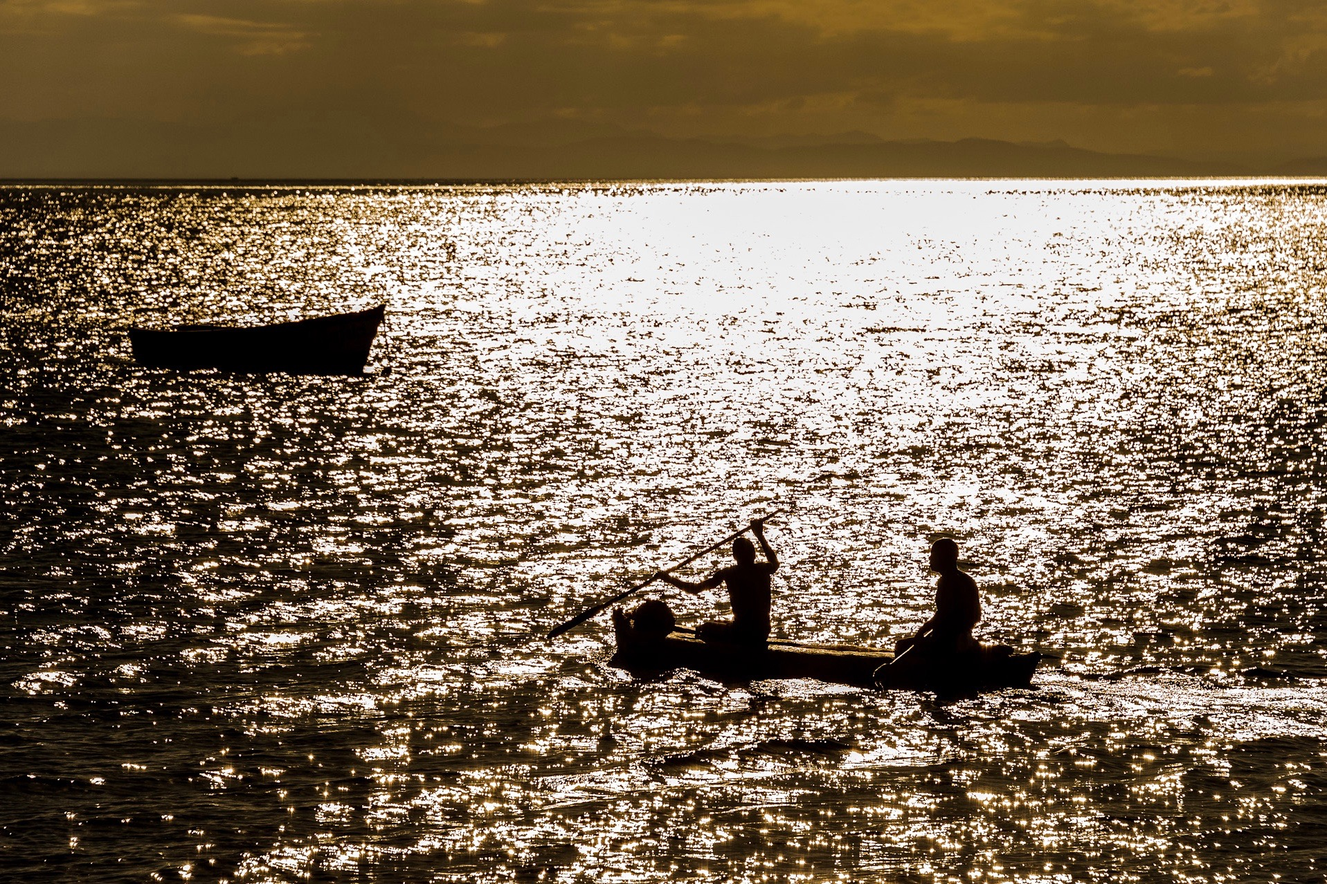 Photo © Danforth Lodge | Early morning fisherman on Lake Malawi